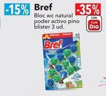 Oferta de Bref Bloc wc natural poder activo pino blister 3 ud. por