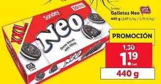 Oferta de Galletas  NEO sondey por 1,19€