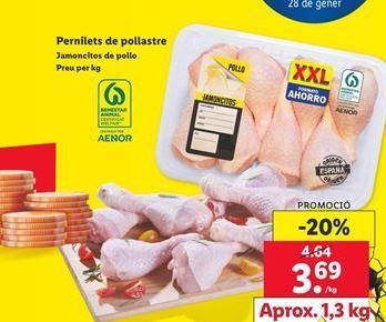 Oferta de Jamoncitos de pollo por 3,69€