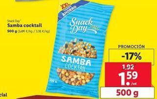 Oferta de Samba cocktail Snack Day por 1,59€