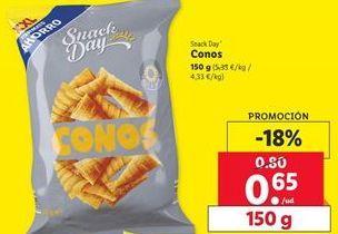 Oferta de Conos Snack Day por 0,65€