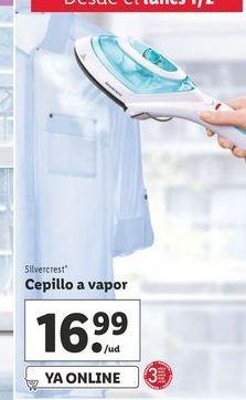 Oferta de Cepillo a vapor SilverCrest por 16,99€