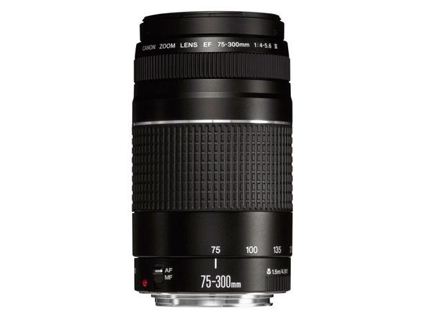 Oferta de Objetivo CANON EF 75-300mm f/4.0-5.6 III  por 309,59€