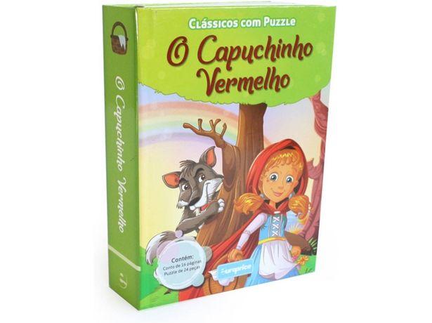 Oferta de Libro Clássicos com Puzzle Capuchinho Vermelho de Varios Autores  por 2,11€