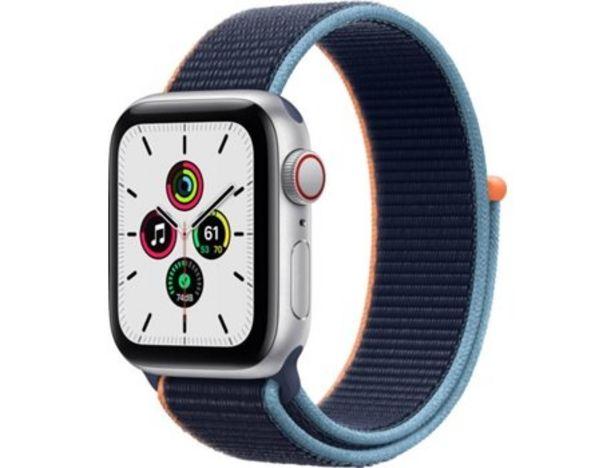 Oferta de APPLE Watch SE GPS+Cellular 40mm plata, azul loop  por 314,97€