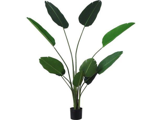 Oferta de Planta artificial OUTSUNNY hojas de palmera  por 80,99€