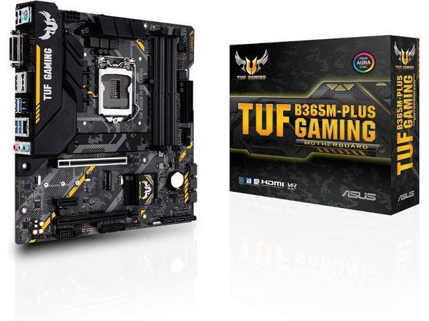 Oferta de Placa Base ASUS TUF B365M-PLUS Gaming  por 79,49€