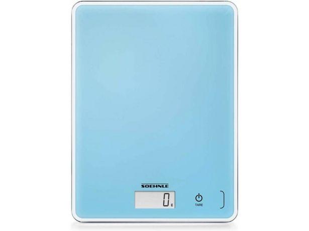 Oferta de Báscula de cocina SOEHNLE Page Compact 300 azul por 9,97€