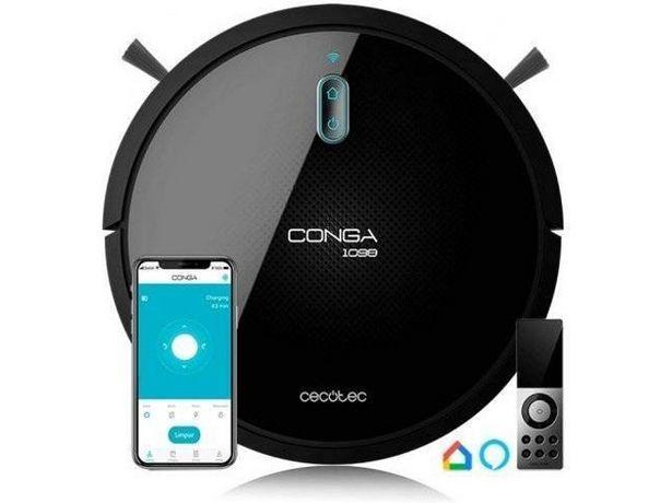 Oferta de Aspirador Robot CECOTEC Conga Serie 1099 Connected (Caja Abierta - Autonomía: 160 min) por 233,97€