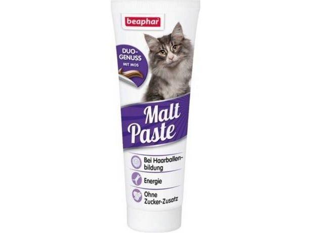 Oferta de Complemento Alimenticio para Gatos BEAPHAR Pasta Malta Duo Active  por 12,16€
