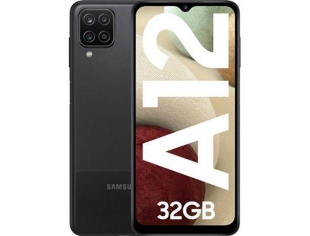 Oferta de Smartphone SAMSUNG Galaxy Galaxy A12  por 129€