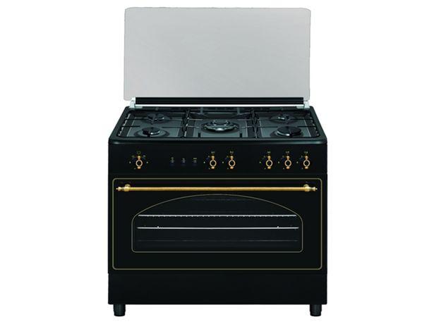 Oferta de Cocina VITROKITCHEN RU9060B (110 L - Gas Butano-propano- Negro) por 569,99€