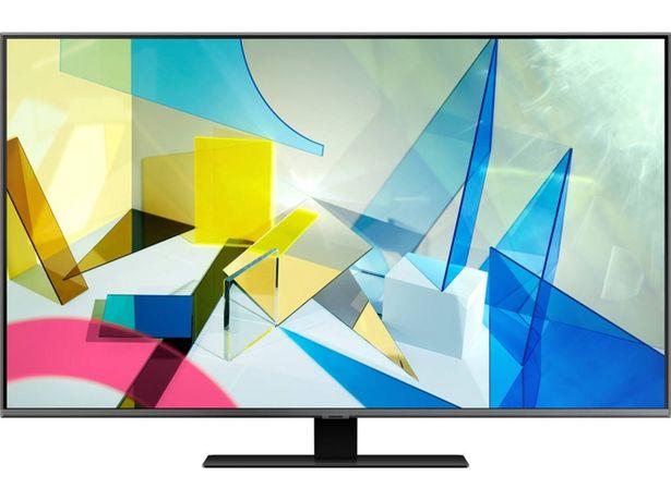 Oferta de TV SAMSUNG QE50Q80T (QLED - 50'' - 127 cm - 4K Ultra HD - Smart TV) por 1049€