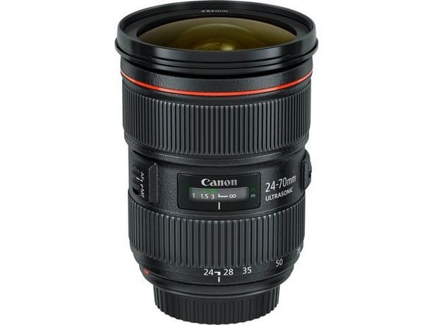 Oferta de Objetivo CANON EF 24-70mm F2.8L II USM por 2052,29€