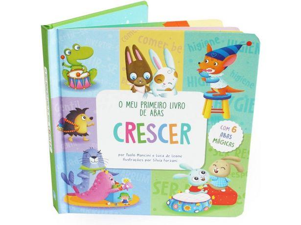 Oferta de Libro O Meu Primeiro Livro de Abas Crescer de Varios Autores  por 6,41€