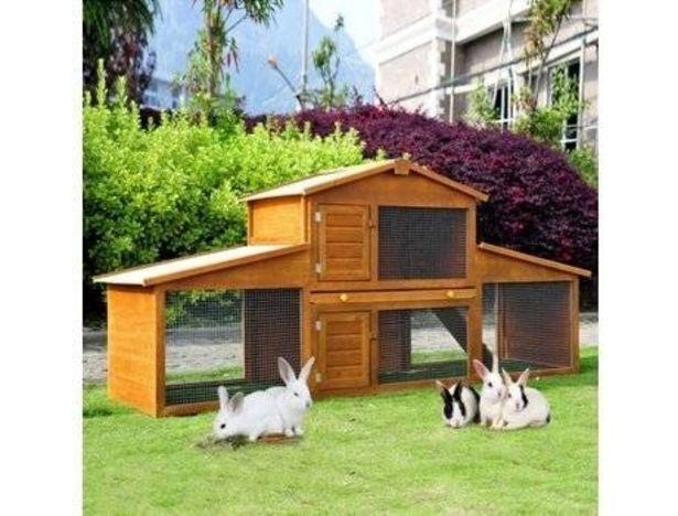 Oferta de Caseta para Conejos PAWHUT  por 161,99€