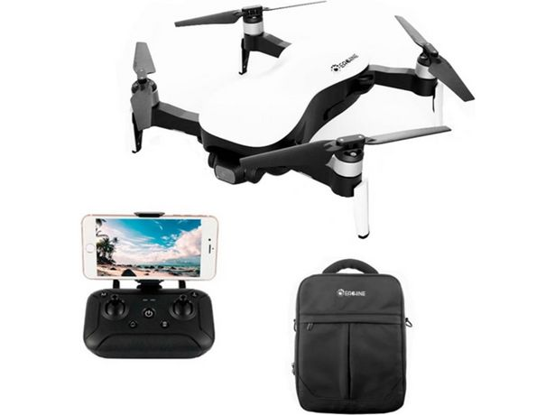 Oferta de Drones con cámara EACHINE EX4 - Three Batteries White por 399,9€
