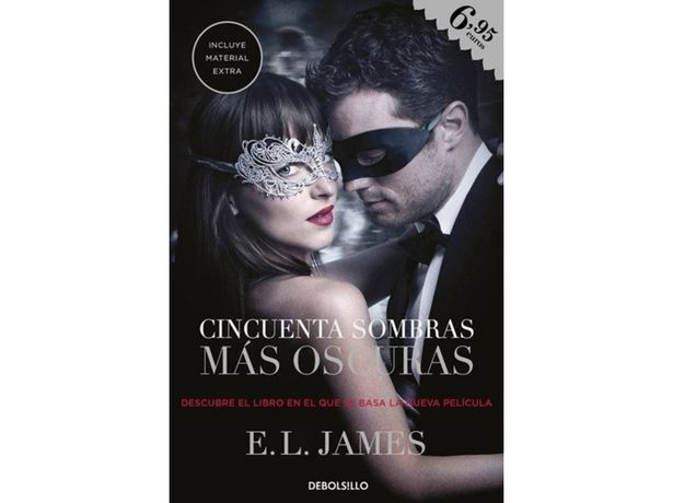 Oferta de Libro Cincuenta Sombras Más Oscuras de E. L. James  por 4,97€