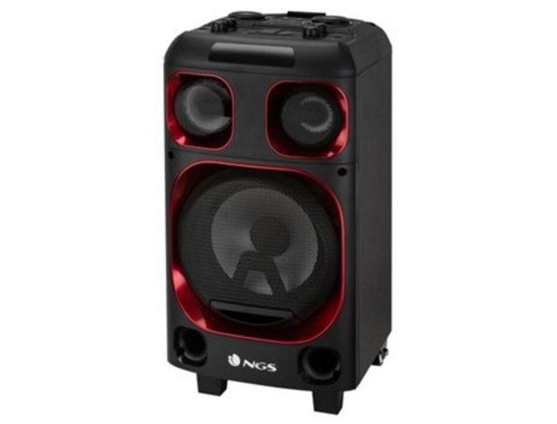 Oferta de Altavoz Bluetooth NGS WILDSKA0 120w por 90,27€