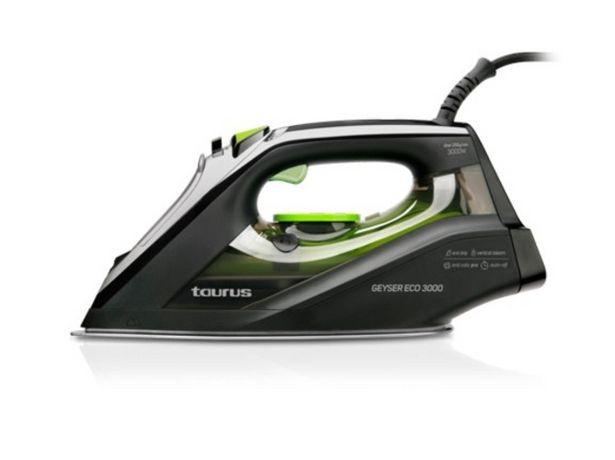 Oferta de Plancha de Vapor TAURUS Geyser Eco 3000  por 53,59€