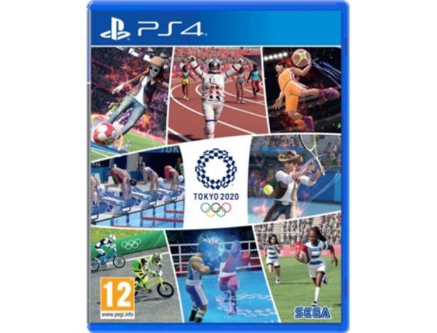 Oferta de Juego PS4 Juegos Olímpicos de Tokyo 2020 por 14,99€