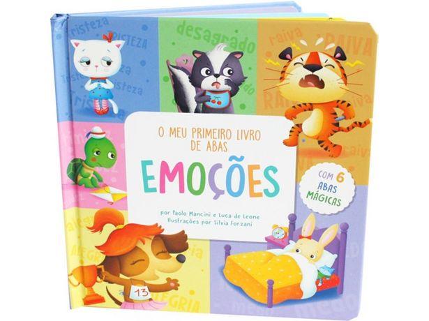 Oferta de Libro O Meu Primeiro Libro de Abas Emoções de Varios Autores  por 6,41€
