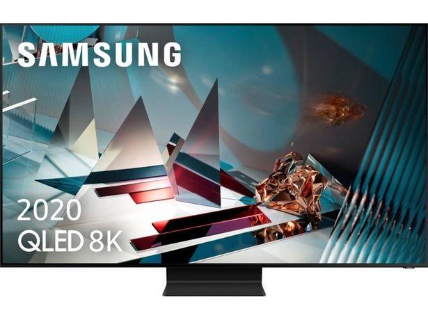 Oferta de TV SAMSUNG QE65Q800TAT (QLED - 65'' - 165 cm - 8K Ultra HD - Smart TV) por 2358€