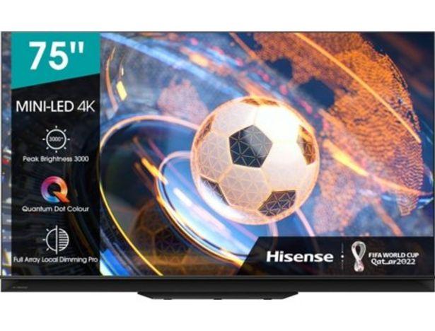 Oferta de TV HISENSE 75U9GQ  por 2799€