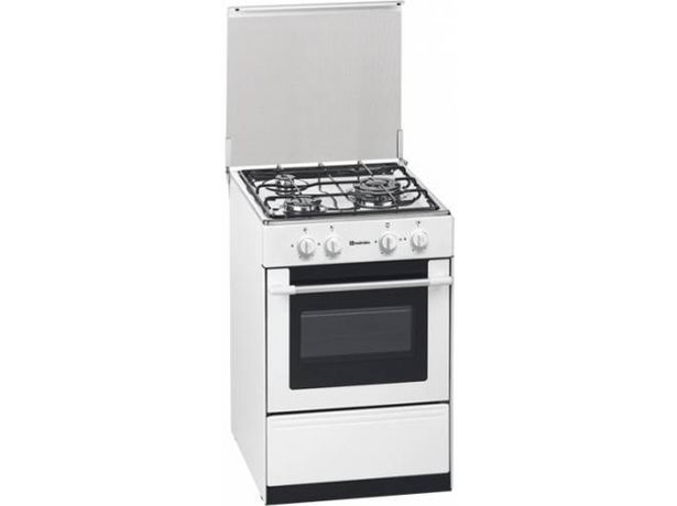 Oferta de Cocina MEIRELES G 1530 DV W NAT (53 L - Gas Natural - Blanco) por 299,99€