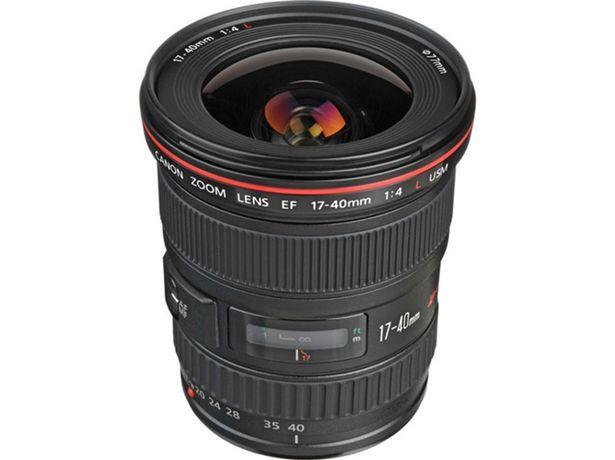 Oferta de Objetivo CANON EF 17-40mm f/4L USM  por 654,85€
