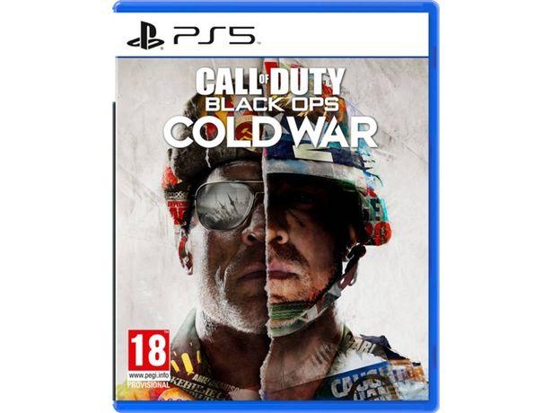 Oferta de Juego PS5 Call of Duty Black Ops Cold War  por 48,97€