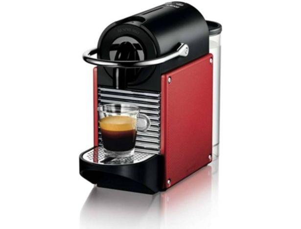 Oferta de Cafetera de Cápsulas NESPRESSO Delonghi Pixie EN125R (Caja Abierta - 19 bar - Rojo) por 89,97€