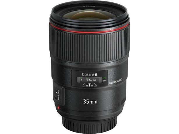 Oferta de Objetivo CANON EF 35mm 1.4L II USM (Encaje: Canon EF - Apertura: f/22-f/1.4) por 1428,99€