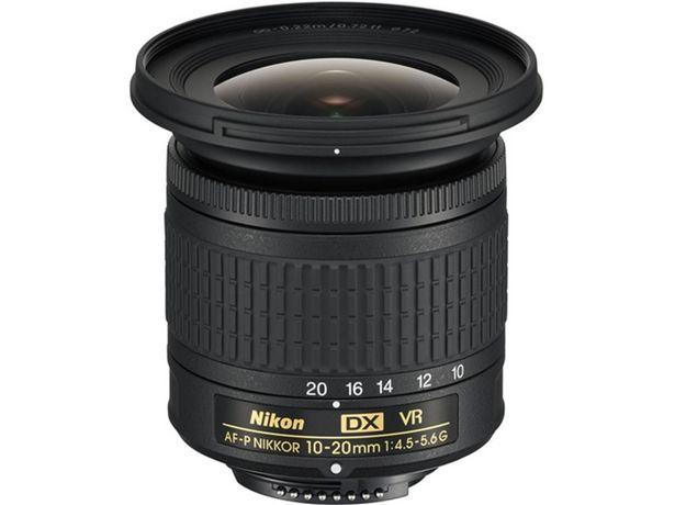 Oferta de Objetivo NIKON AF-P DX NIKKOR 10-20mm f/4.5-5.6G VR  por 381,57€