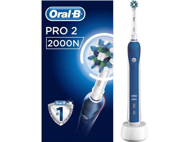 Oferta de Cepillo de Dientes Eléctrico ORAL-B Pro 2 2000 Azul por 43,99€
