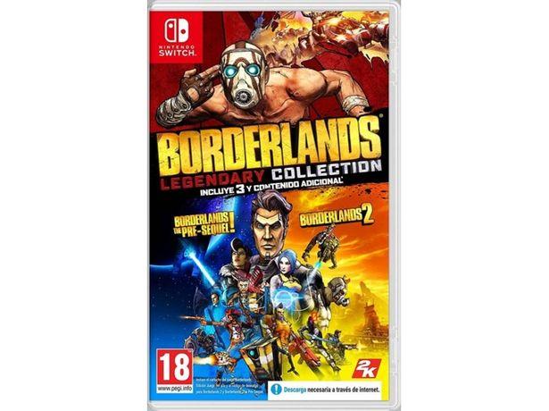 Oferta de Juego Switch Borderlands Legendary Collection (Shooter - M18) por 29,99€