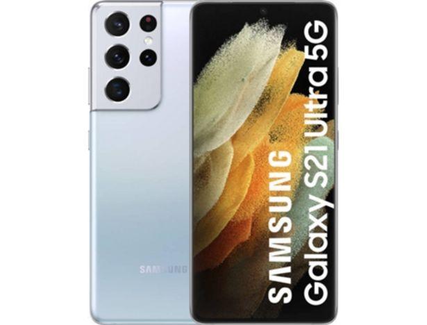 Oferta de Smartphone SAMSUNG Galaxy S21 Ultra 5G  por 1085€