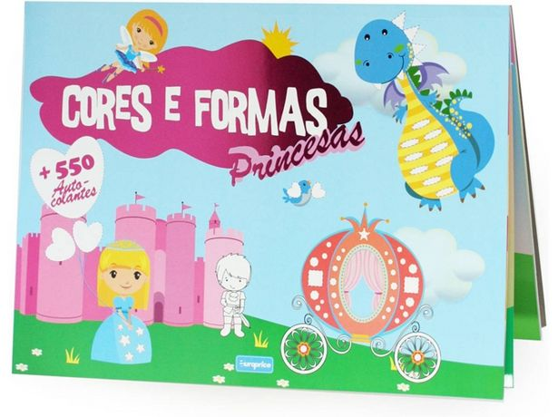 Oferta de Libro Cores e Formas As Princesas de Varios Autores  por 1,56€