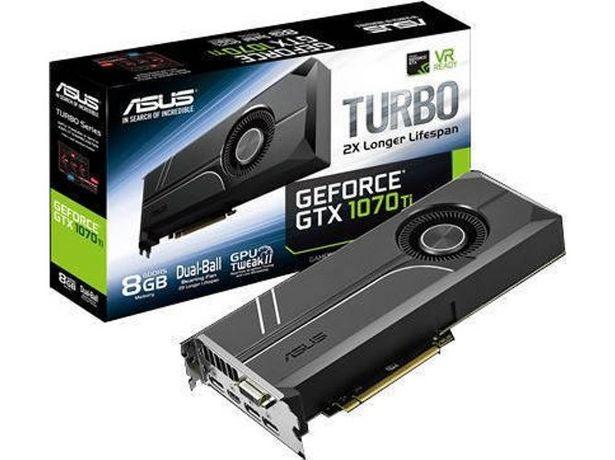Oferta de Tarjeta Gráfica nVidia ASUS GeForce GTX 1070 Ti Turbo 8GB GDDR5  por 718,17€