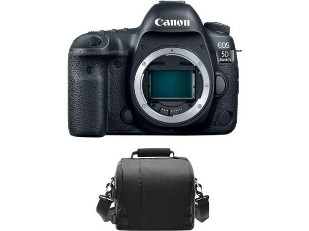 Oferta de Kit Máquina Fotográfica Mirrorless CANON EOS 5D IV + Bolsa por 2346,46€
