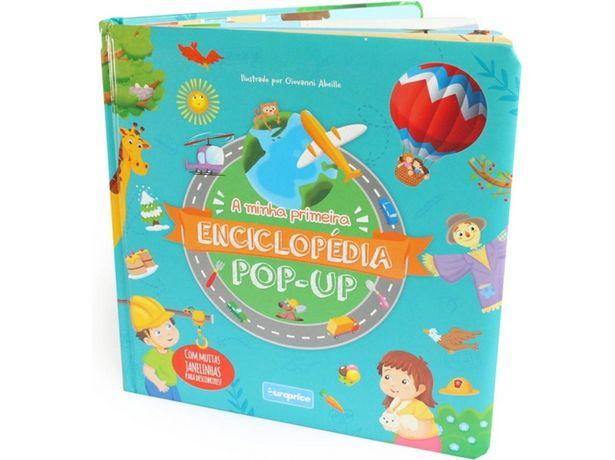 Oferta de Libro A Minha Primeira Enciclopédia Pop-up de Varios Autores  por 8,41€