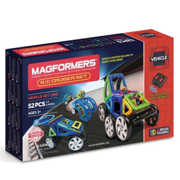 Oferta de Juego de construcción magnético de vehículos por 159€