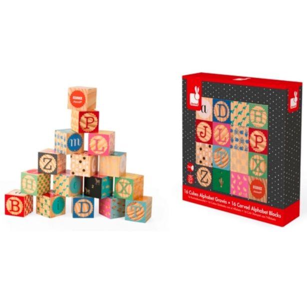 Oferta de Juego de cubos de madera por 21,95€