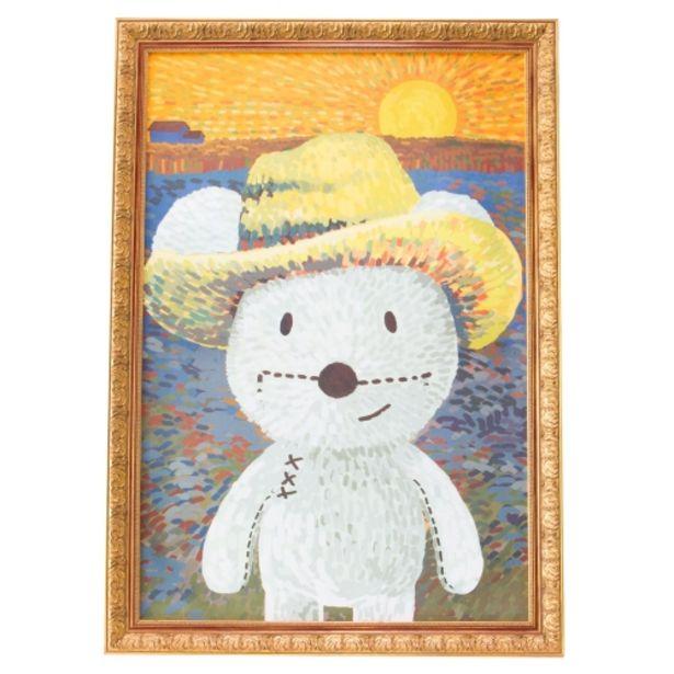 Oferta de Lienzo decorativo inspirado en Van Gogh (63X93cm) por 59,95€