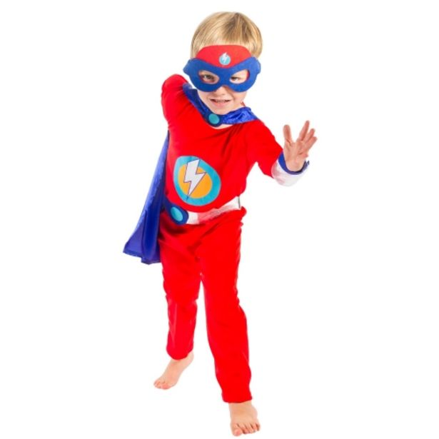 Oferta de Disfraz de superhéroe (8-9 años) por 12,95€