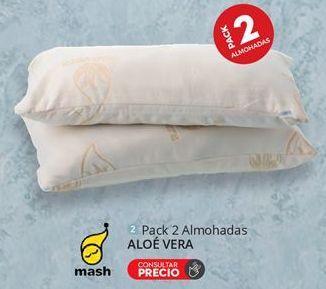 Oferta de Pack 2 Almohadas ALOÉ VERA por