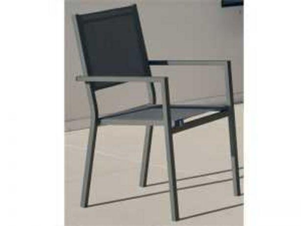 Oferta de Sillón aluminio CORCEGA-3 antracita por 69€