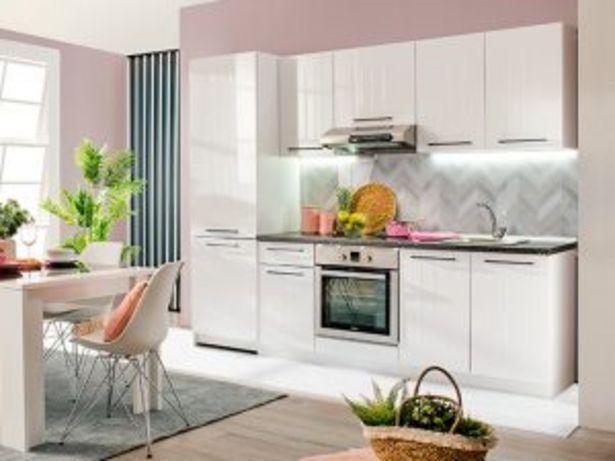 Oferta de Mobiliario de cocina «MILENA» BLANCO por 690€