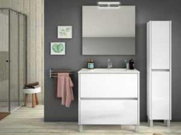 Oferta de Mueble de baño mod. VALENCIA 80 cm blanco por 279€