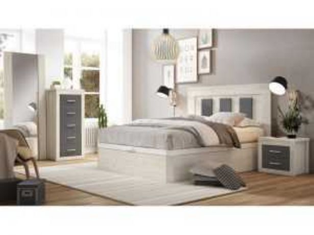 Oferta de Dormitorio de Matrimonio Mod. ROMA ártico-antracita por 490€